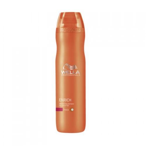Wella Care³ Enrich Shampoo für kräftiges Haar