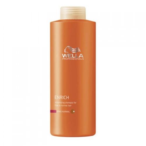 Wella Care³ Enrich Volumenshampoo feines/normales Haar