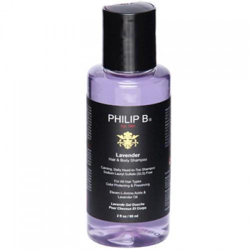 Philip B. Lavender Hair & Body Shampoo 60 ml