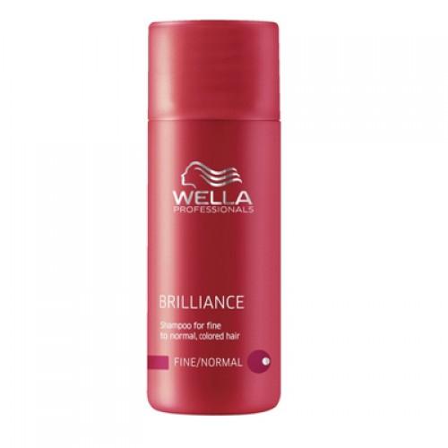 Wella Care³ Brilliance Shampoo feines/normales Haar Reisegröße