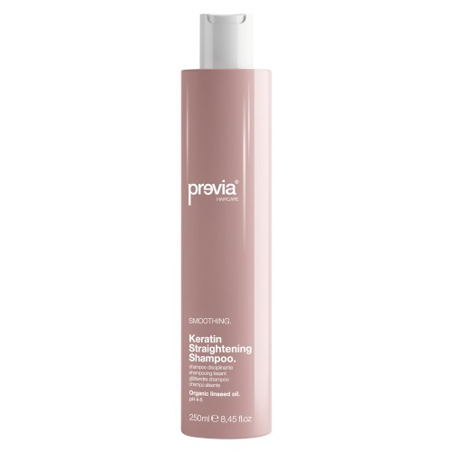 Previa Smoothing Keratin Straightening Shampoo 250 ml