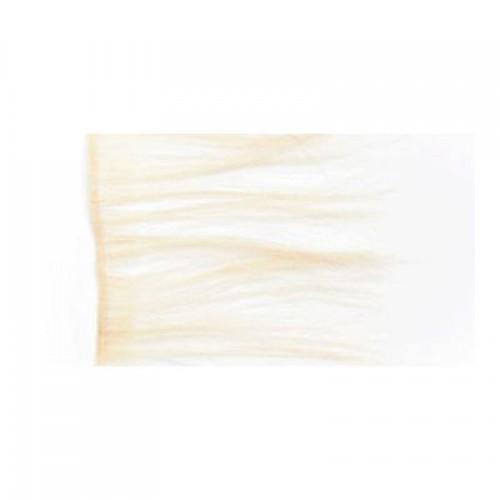 L'IMAGE Tresse,weiß, 10cm B x 70 cm L