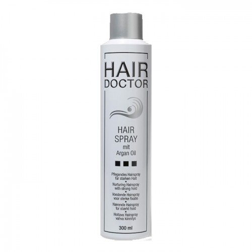 Hair Doctor Hairspray Strong mit Arganöl 300 ml