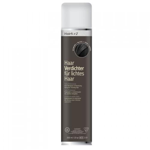 Hairfor2 Haarauffüller Schwarz 300 ml