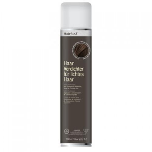 Hairfor2 Haarauffüller Dunkelbraun 300 ml