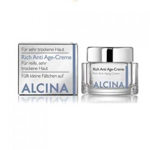 ALCINA Rich Anti Age Creme für sehr trockene Haut