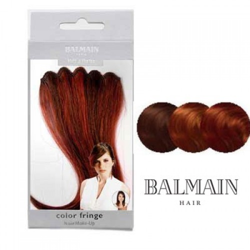 Balmain Hair Make Up Color Fringe WILD FIRE