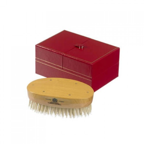 KENT ovale Luxus Herren-Kardätsche, 11-reihig soft/weich, MHS18S