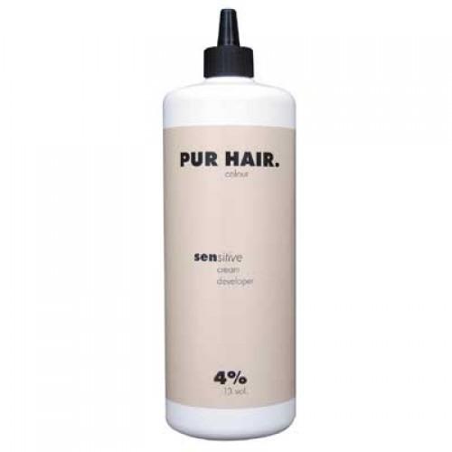 PUR HAIR. sensitive cream developer 4%