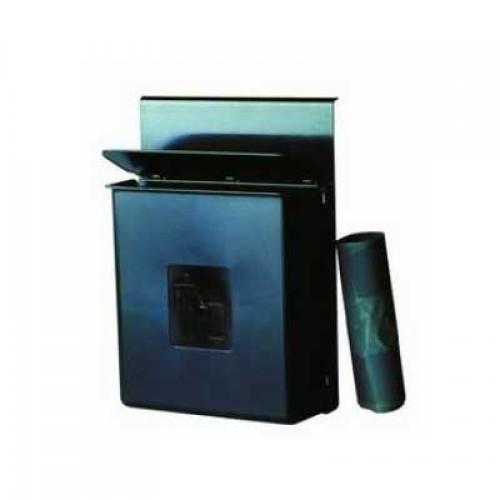 Efalock Abfallbehälter schwarz