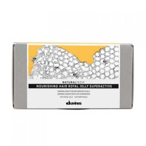 Davines Natural Tech Nourishing Hair Royal Jelly Superactive 6 x 8 ml