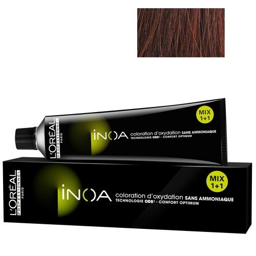 L'Oréal Professionnel INOA 5,4 hellbraun kupfer 60 ml
