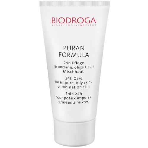 Biodroga Puran Formula  24-Stundenpflege für fettige  Mischhaut