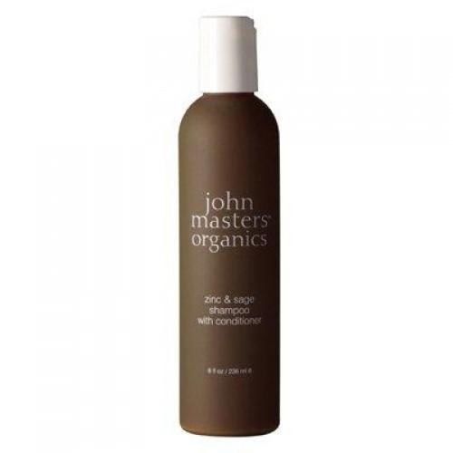 john masters organics Zinc & Sage Shampoo mit Conditioner 236 ml