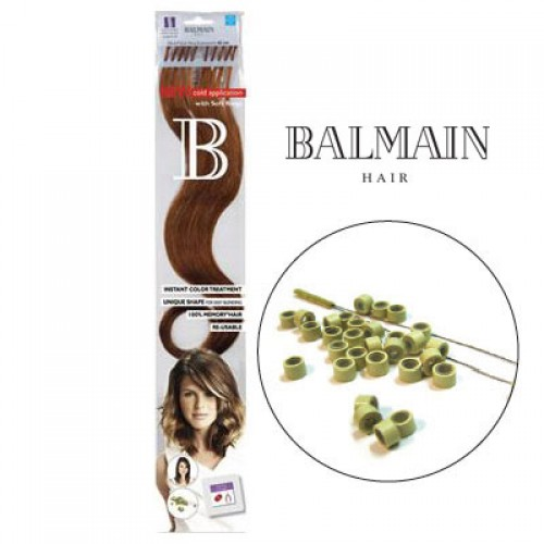 Balmain Extensions FILL-IN Nuance Straight  Indigo;Balmain Extensions FILL-IN Nuance Straight  Indigo