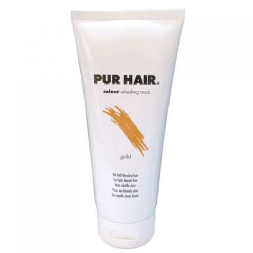 PUR HAIR Colour Refreshing Mask Gold