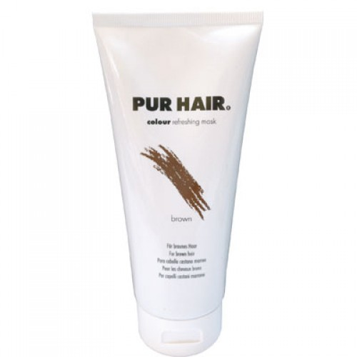 PUR HAIR Colour Refreshing Mask Brown