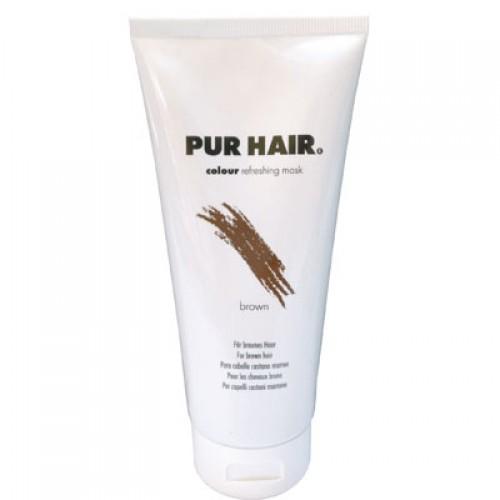 PUR HAIR Colour Refreshing Mask Brown