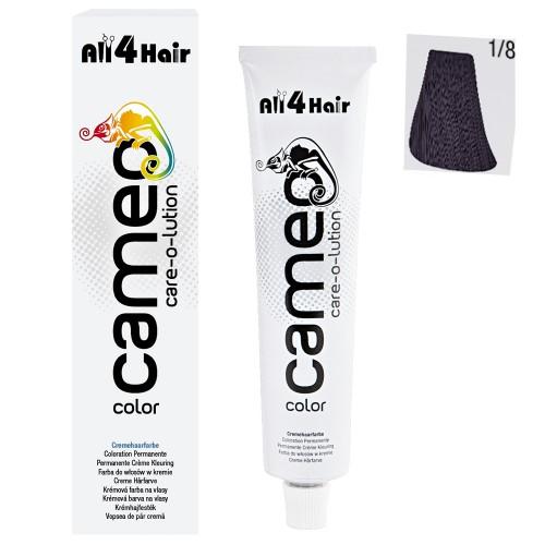 Cameo Color Haarfarbe 1/8  blauschwarz