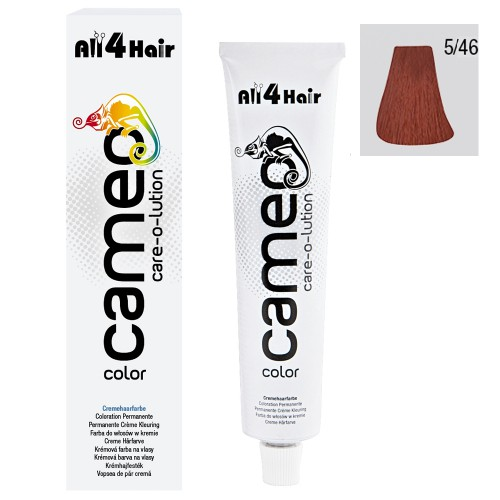 Cameo Color Haarfarbe 5/46 hellbraun intensiv rot-violett 60 ml