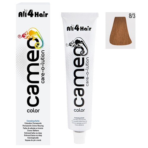 Cameo Color Haarfarbe 8/3 hellblond gold 60 ml