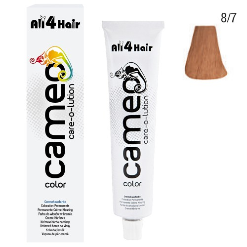Cameo Color Haarfarbe 8/7 hellblond braun 60 ml