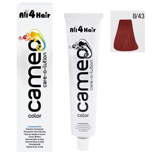 Cameo Color Haarfarbe 8/43 hellblond int.-rot-gold
