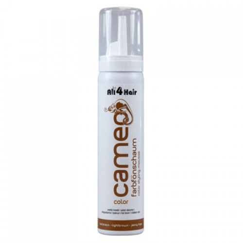 LOVE FOR HAIR Professional cameo color style mousse hellbraun 75 ml