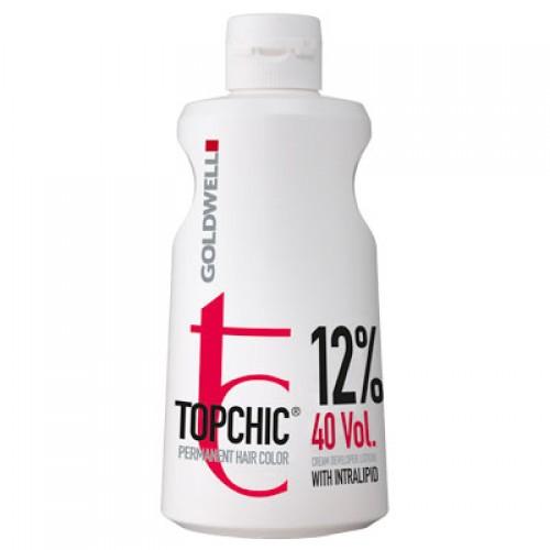 Goldwell Topchic Cream Developer Lotion 12% 1000 ml