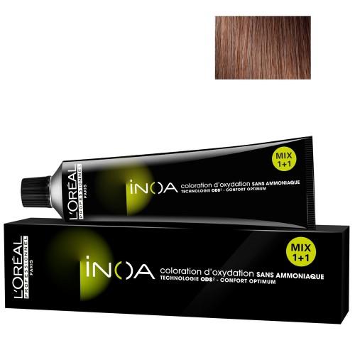 L'Oréal Professionnel INOA 7,8 mittelblond mokka 60 ml