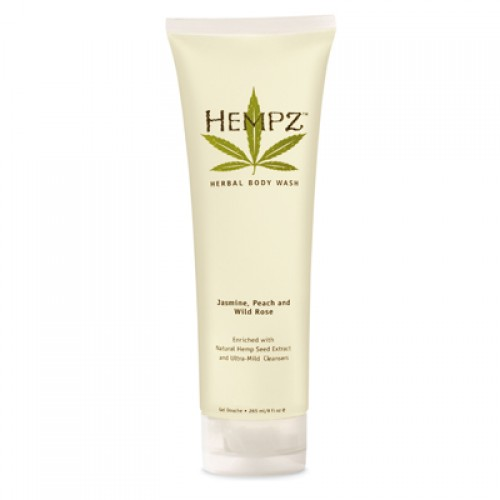 Hempz Jasmine, Peach & Wild Rose Herbal Body Wash