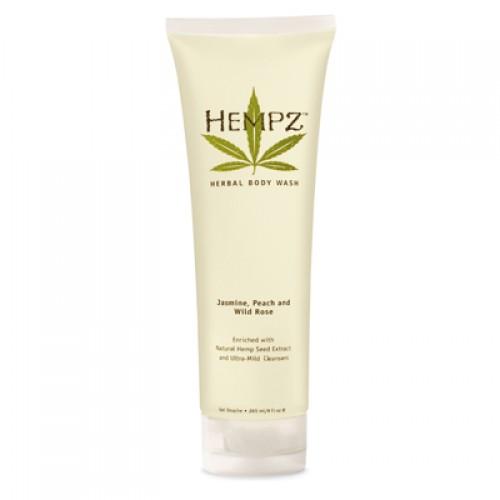 Hempz Jasmine, Peach & Wild Rose Herbal Body Wash
