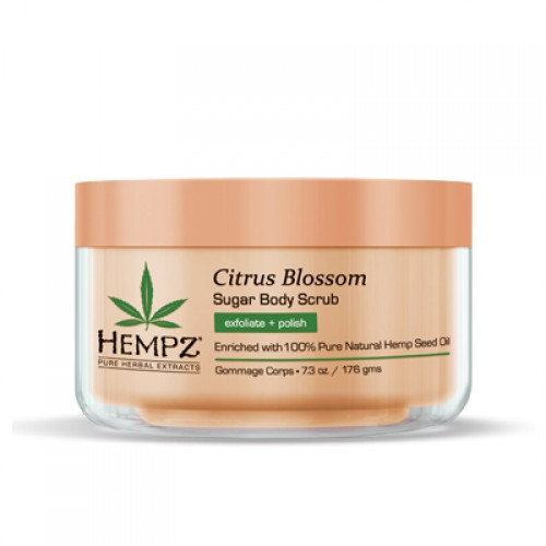 Hempz Citrus Blossom Sugar Body Scrub