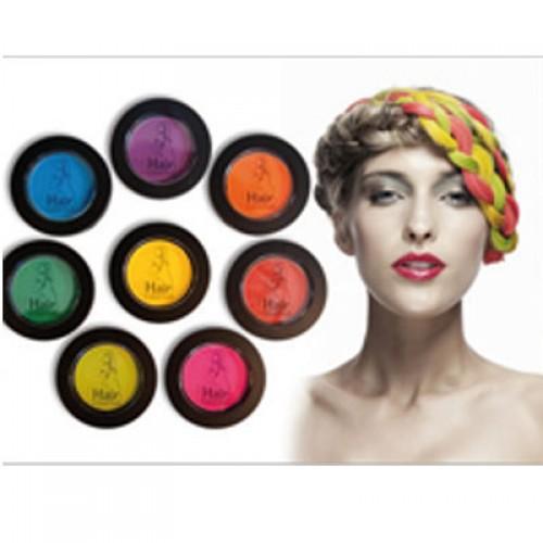 hair colorchalk haarkreide neon yellow 4 g