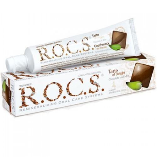 R.O.C.S. Schokolade und Minze Zahncreme