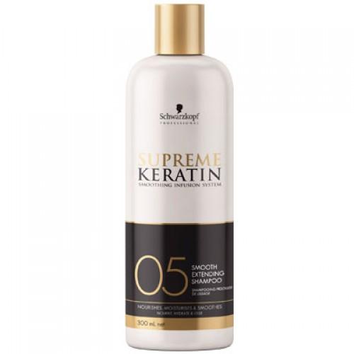 Schwarzkopf Surpreme Keratin Smooth Extending Shampoo 05