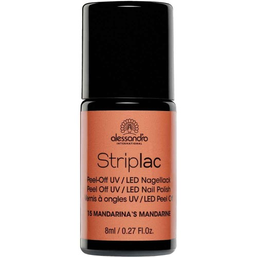 alessandro International Striplac 15 Mandarinas Mandarine 8 ml