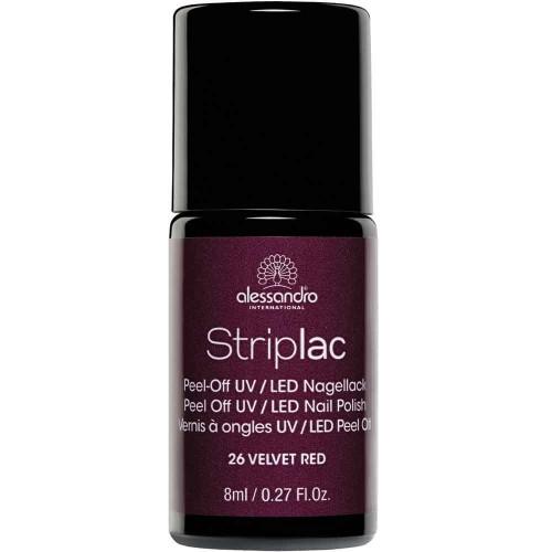alessandro International Striplac 26 Velvet Red 8 ml
