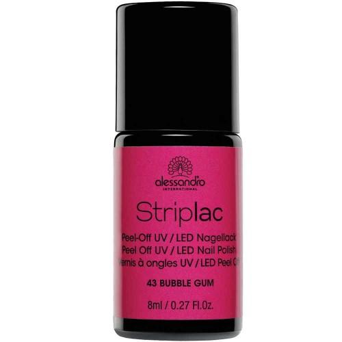 alessandro International Striplac 43 Bubble Gum 8 ml