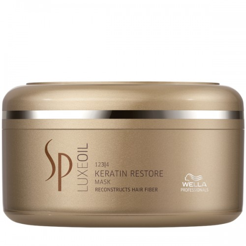 WELLA SP System Professional Luxe Oil Keratin Restore Mask 150 ml