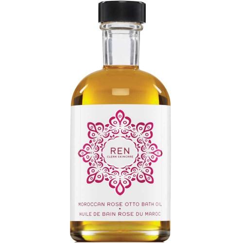 REN Moroccan Rose Otto Bath Oil 110 ml