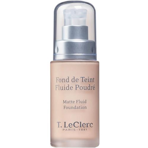 T. LeClerc Matte Fluid Foundation 01 Ivoire 30 ml