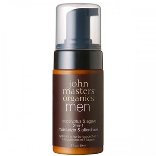 john masters Organics Eucalyptus & Agave 2 in 1 moisturizer & aftershave 89 ml
