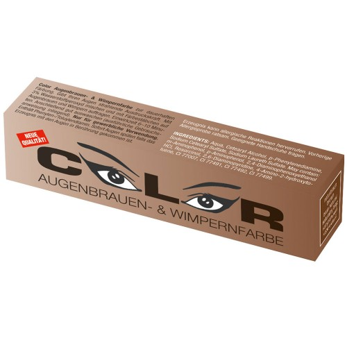 Comair Color Augenbrauen- und Wimpernfarbe naturbraun 15 ml