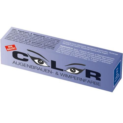Comair Color Augenbrauen- und Wimpernfarbe blau 15 ml