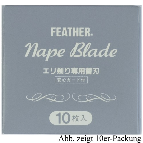 Feather Nape Klingen à 100 Stck.nape blades