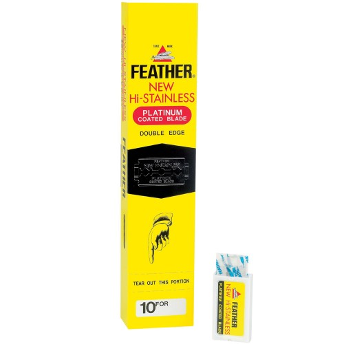 Feather Double Egde blades 10 Stück