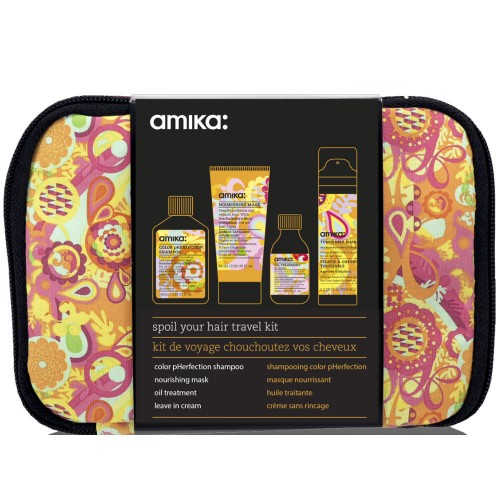 amika Spoil Your Hair Obliphica Travel Kit