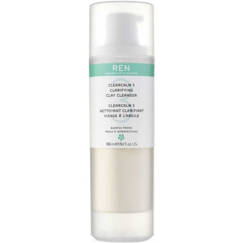 REN Clearcalm3 Clarifying Clay Cleanser 150 ml