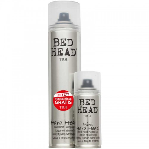 tigi bed head hard head hairspray duo 385 ml 100 ml gratis g nstig kaufen hagel online shop. Black Bedroom Furniture Sets. Home Design Ideas